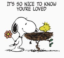 Snoopy in Love Kids Clothes