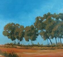Wheatfields series - Trees 2 by Harling
