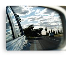 ruralscapes #7, highway Canvas Print