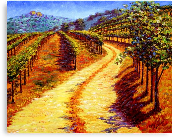 Sonoma Vineyard by sesillie