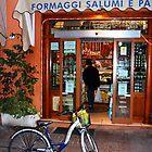 "Reggio-Emilia. ""Formaggi, Salumi e Pane"" Store, Italy 2009 by Igor Pozdnyakov"