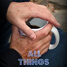 Coffee In Hand Feature Banner by Tonye Banks