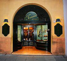 Reggio-Emilia. Cafe Torinese Storefront. Italy 2009 by Igor Pozdnyakov
