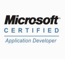 Microsoft Certified Application Developer by crimson8