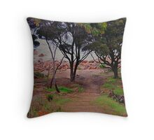 Mind the steps Throw Pillow