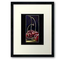 Drunk Cherries  Framed Print