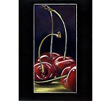 Drunk Cherries  Photographic Print