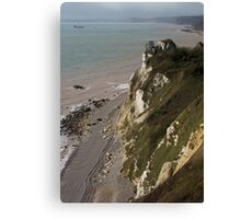 The Hooken Undercliff Canvas Print