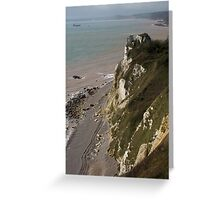 The Hooken Undercliff Greeting Card