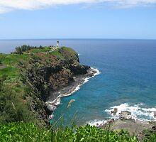 Kilauea Lighthouse by aura2000