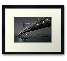 The Bay Bridge and SF (Revisited) Framed Print