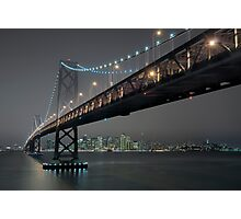 The Bay Bridge and SF (Revisited) Photographic Print