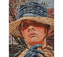 Lady in hat Photographic Print