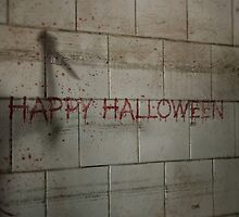 Bloody Happy Halloween Greeting by stine1
