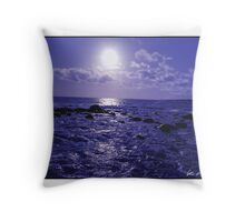 Mussdale Blues Throw Pillow