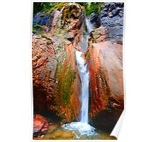 Wasserfall Poster
