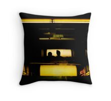Cabin With View Throw Pillow