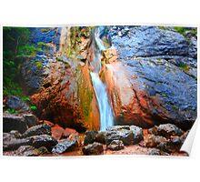 Wasserfall II Poster