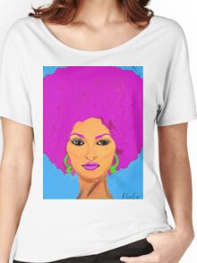 Pam Grier Aka Jackie Brown. XL version Women's Relaxed Fit T-Shirt