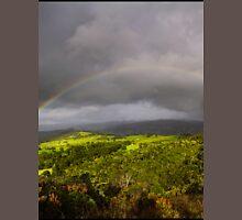 a vast Colombia landscape Unisex T-Shirt