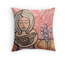 He Mele No 'Oe (A Song for You) Throw Pillow
