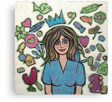 All Women are Princesses Canvas Print