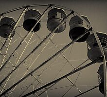 Crazy Ferris Wheel by inkedsandra