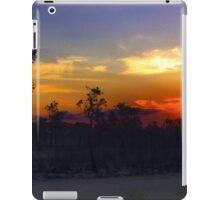 Waterhole sunset HDR iPad Case/Skin