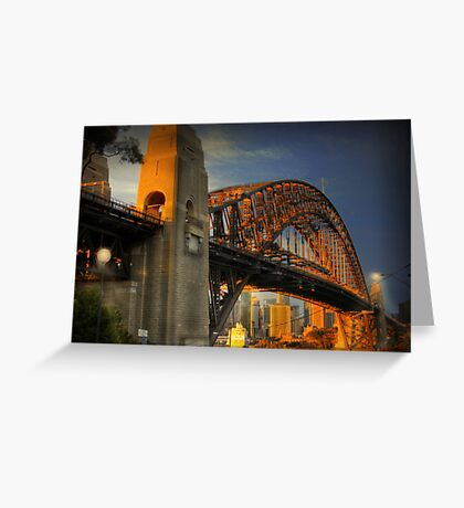 Golden Gateway - Sydney, Australia Greeting Card
