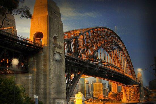 Golden Gateway - Sydney, Australia by Mark Richards