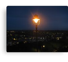 Whitby Lamplight Canvas Print