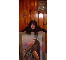 Rest IN God oil Painting I did Photographic Print