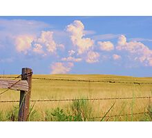 Thunderheads in the Distance Photographic Print