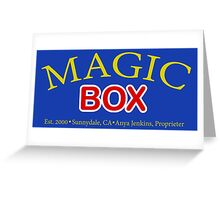 Magic Box - Buffy, The Vampire Slayer Greeting Card