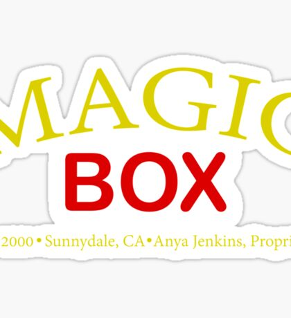 Magic Box - Buffy, The Vampire Slayer Sticker