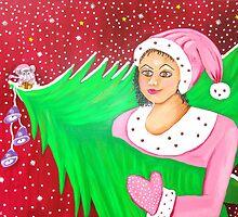 Christmas Lady (2009-10) by Deva Saal