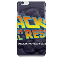 back stem cell research iPhone Case/Skin
