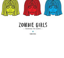 Zombie Girls - Color by wemanifest
