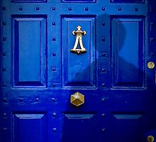 Stranger at the door... myself. by Susana Weber