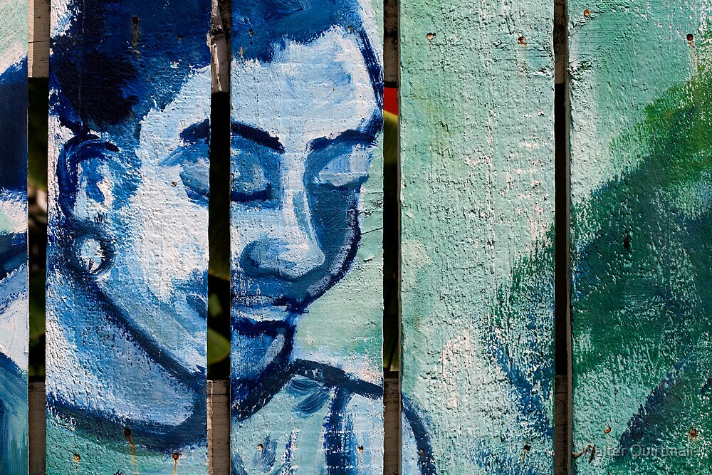 Fence Art by Walter Quirtmair