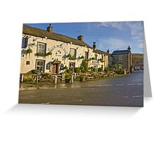 Blue Bell Inn -Kettlewell Greeting Card