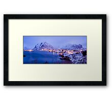 Reine in Royal Blue Framed Print