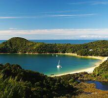 Abel Tasman National Park by lukasdf