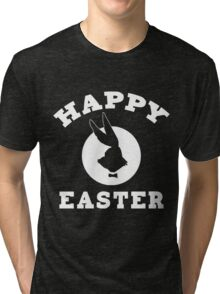 Happy Easter Featuring The New Easter Bunny Tri-blend T-Shirt