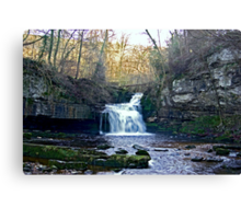 West Burton Falls Canvas Print