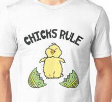 Easter Chicks Rule Unisex T-Shirt