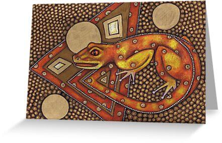 Avant! Gecko by Lynnette Shelley