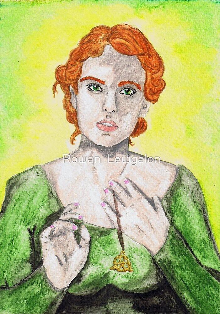 Celtic Woman by Rowan  Lewgalon