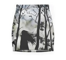 Dark Walk Mini Skirt