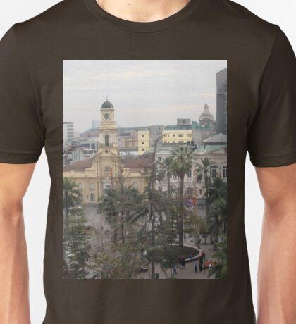 a sprawling Chile landscape Unisex T-Shirt